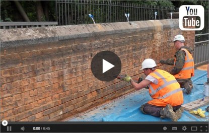 Video of a parapet strengthening project by Goldhawk Bridge Restoration