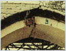 Testing a masonry arch to failure