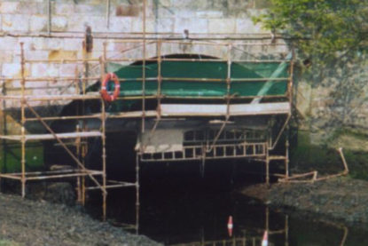 Canal Bridge strengthening