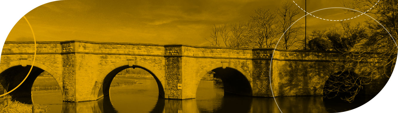 Goldhawk Bridge Restoration repaired and strengthen the Oundle North Bridge