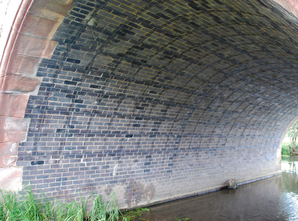 The completed MARS system on the finished bridge strengthening project by Goldhawk Bridge Restoration
