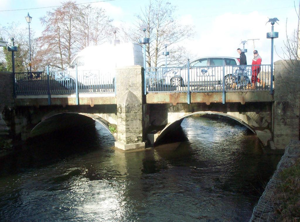 St Clears Bridge prior to Goldhawk Bridge Restoration's strengthening project